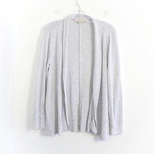 Loft soft open front cardigan knit long sleeve top